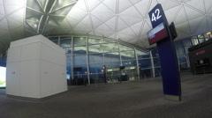 Hong Kong International Airport (Chek Lap Kok Airport) Stock Footage