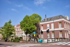 Houses in Den Haag Stock Photos