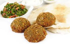 Stock Photo of Lebanon Falafel