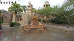 The Mystic Fountain at Universal Studios, Orlando Stock Footage