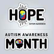Autism Awareness Graphics Illustration Stock Illustration