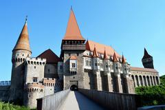 Huniazilor Castle - stock photo