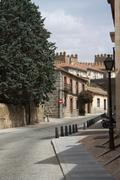 Image from spanish city of Avila in Castilla Leon Stock Photos