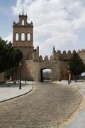 Image from spanish city of Avila in Castilla Leon - stock photo