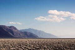 Devil's Playground in Death Valley National Park - stock photo