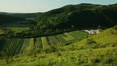Transylvanian morning 2 Stock Footage