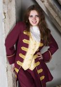 Girl dressed as a prince Stock Photos
