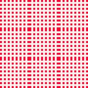 Red and white gingham clothtable for a picnic or outdoor food Stock Illustration