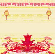 Stock Illustration of Mid-Autumn Festival for Chinese New Year