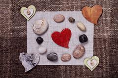 Heart music love background wallpaper design Kuvituskuvat