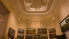 Inside San Jacinto Memorial Museum Houston Texas 3 Stock Footage