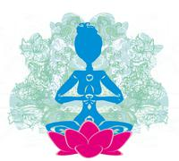 Yoga and Spirituality Stock Illustration