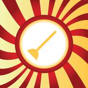 Plunger abstract icon Stock Illustration