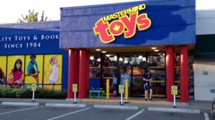 One side of Mastermind toys Stock Footage