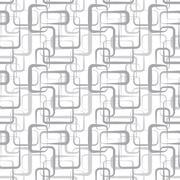 abstract vector seamless wallpaper - stock illustration