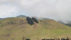 Waimea, Hawaii,  Mountain in distance Stock Footage