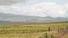 Blue Sky's of Waimea Hawaii.  Stock Footage
