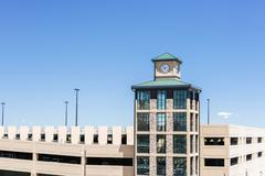 Stock Photo of Light rail station