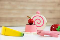 Food Preparation Toy Set for Kids - stock photo