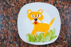 Animated food dog Stock Photos