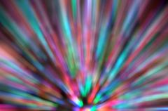 Abstract Background Of  Zoom Motion Blur - stock illustration