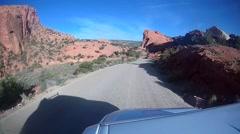 Off Road Utah Stock Footage