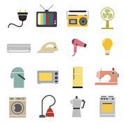 Stock Illustration of home appliances icon