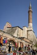 A market near the Hagia Sophia Mosque - Istanbul Stock Photos