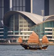Chinese Junk - Hong Kong Stock Photos