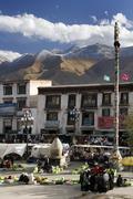 The Barkhor - Lhasa - Tibet Stock Photos