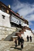 Ganden Monastery - Tibet Stock Photos