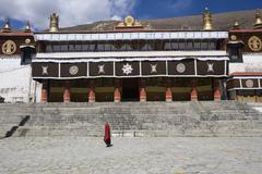Drepung Buddhist Monastery - Lhasa - Tibet Stock Photos