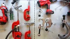 RIDGID hand tools Stock Footage