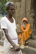 Hindu Sadhu - Mahabalipuram - India Kuvituskuvat