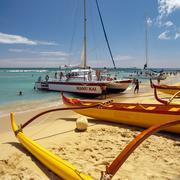 Waikiki Beach - Honolulu - Hawaii Kuvituskuvat