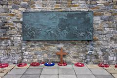 Falklands War Memorial - Stanley - Falkland Islands - stock photo