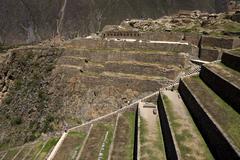 Ollantaytambo - Sacred Valley of the Incas - Peru Stock Photos