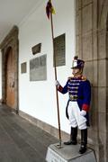 Presidential Palace - Quito - Ecuador - stock photo