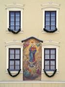 Madonna House - Krakow - Poland - stock photo