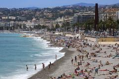 City of Nice - Cote d Azur - South of France. Stock Photos