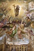 Religious Painting - Novelda - Spain Stock Photos