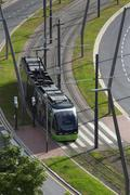 Stock Photo of Tram System - Bilbao - Spain
