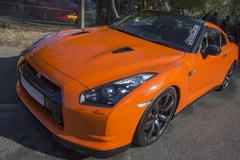 Nissan Skyline GT-R Sportscar - stock photo