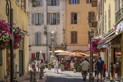 Antibes - French Riviera - South of France - stock photo