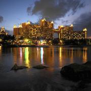 Resort of Atlantis - Bahamas - stock photo