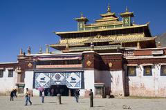 Sera Monastery - Tibet - stock photo