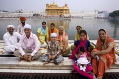 Golden Temple of Amritsar - India Stock Photos