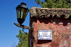 Calle de los suspiros in colonia del sacramento uruguay Kuvituskuvat