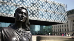 A Real Birmingham Family - Library of Birmingham. Stock Footage
