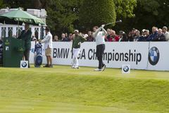 1st Tee BMW PGA Championship 2011 - stock photo